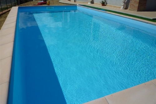 piscina interrata, dimensioni 7x3,5 m